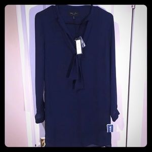 Romeo and Juliet Navy Top